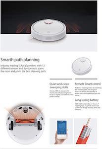 Xiaomi SDJQR02RR - Aspirador Robótico