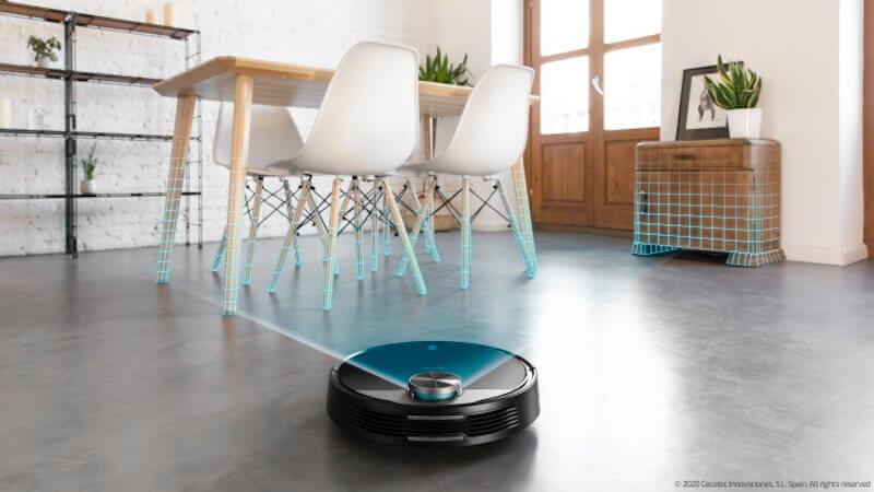 Robot Aspirador Cecotec Conga Serie 2090 Vision – Con Cámara 360