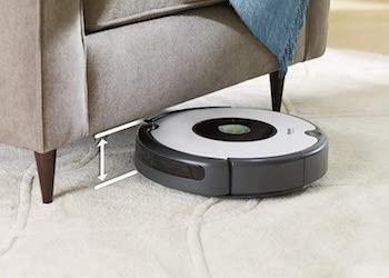 iRobot Roomba 605- Robot aspirador para suelos duros y alfombras