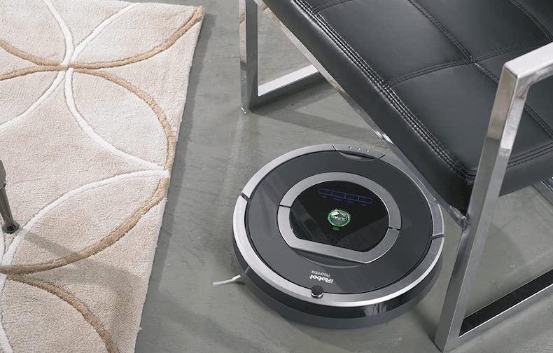 iRobot Roomba 780 - Robot aspirador laser suelos1 cepillos revisión