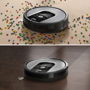 iRobot Roomba 680 sitema dirt detect