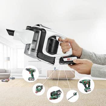 Bosch BBS1224 Unlimited Serie | 8 Aspirador sin cable, incluye 2 baterías extraíbles