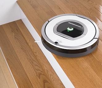 Las paredes virtuales crean una barrera por donde Roomba no pasará.
