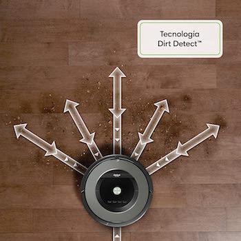 iRobot Roomba 865 - Robot Aspirador Óptimo para Pelo de Mascotas, Potencia Succión 5 Veces Superior