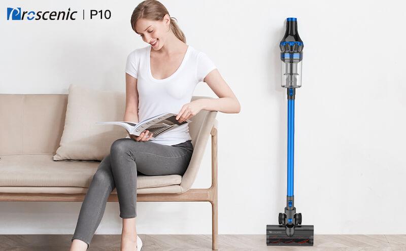 Aspiradora Sin Cable Proscenic P10 – Altas Prestaciones a un Precio Ajustado