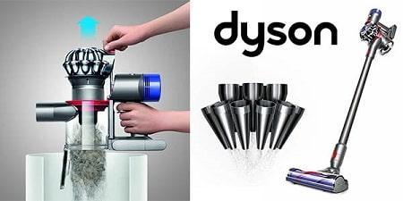Dyson V7 Animal deposito-min