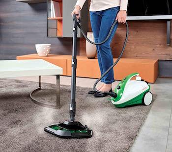 Polti Vaporetto Smart 35 Mop Limpiador a Vapor con Cepillo Vaporforce